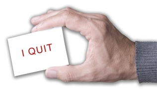 Quitting without Notice