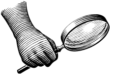 Magnifying Glass as Metaphor for Interview Research